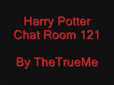 harry potter chat room uploaded by thetrueme