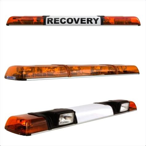 green light auto solutions haztec xpress led lightbar with centre sign r65 1192mm 47 quot