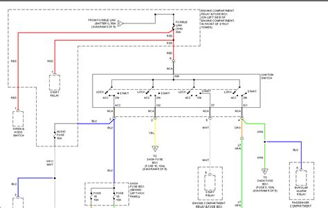 2000 hyundai accent wiring diagram 2000 hyundai accent