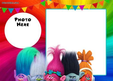 trolls template free printable trolls invitation template dolanpedia