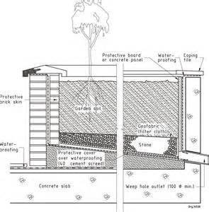 Rooftop Planter Boxes by Figure 40 Flat Roof Waterproofing Details Water