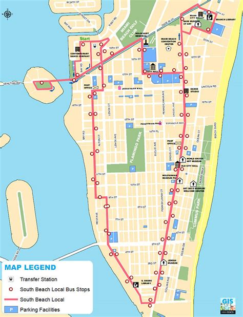 Island Trolley Kitchen by South Beach Local Shuttle Bus Map South Beach Magazine