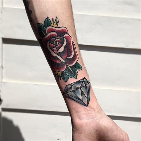 tattoo old school diamante tatuagem de diamante o verdadeiro significado com