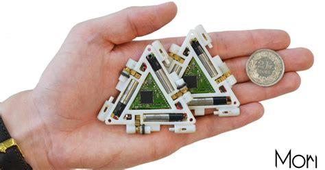 Robot Origami - modular robots fold like origami eenews europe