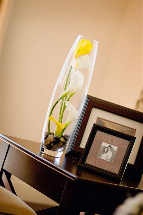 calla table arrangment home decor floral arrangement