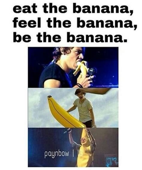 bananas cute funny harry styles one direction run be the banana image 2609499 by patrisha on favim com