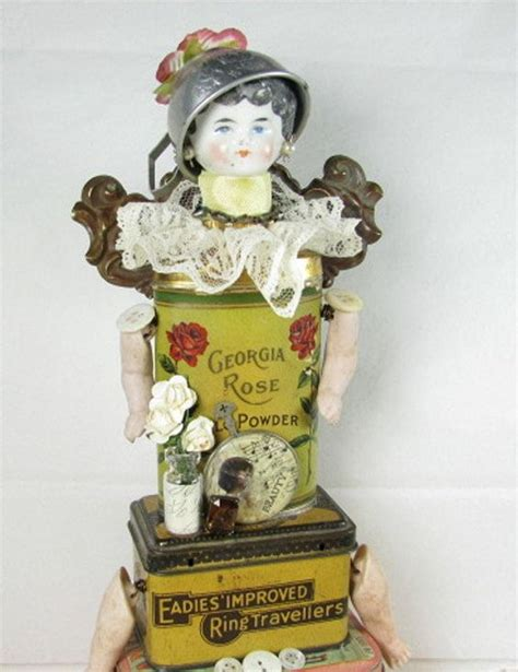 doll assemblage assemblage doll quot bath and quot assemblage