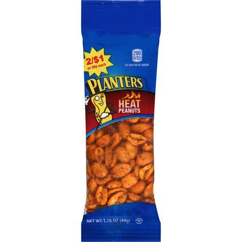 planters heat peanuts size