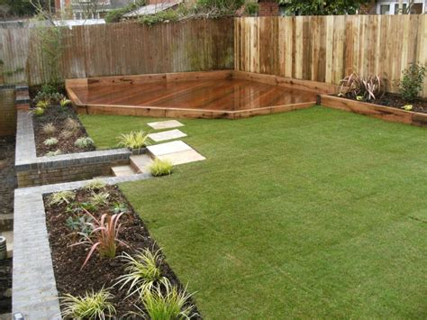 maintenance free backyard garden design hshire surrey low maintenance gardens