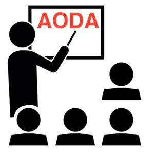 aoda policy template products accessibility ontario