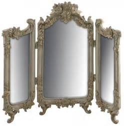 Ornate Vanity Table Antiqued Ornate Vintage Dressing Table Mirror Mulberry Moon
