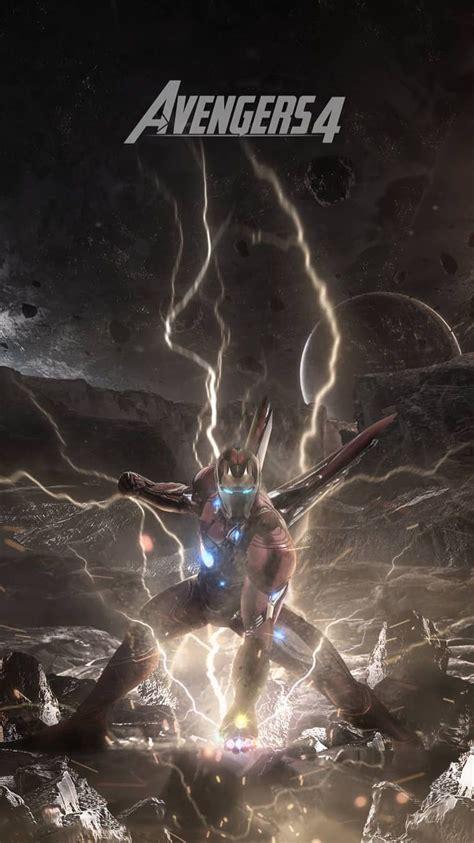 avengers endgame iron man poster iphone wallpaper marvel