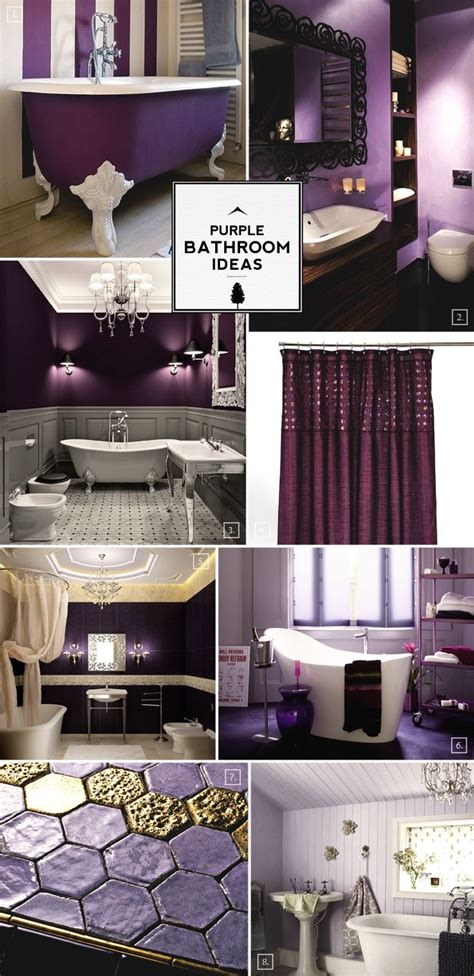 purple themed bathrooms best 25 purple bathrooms ideas on pinterest purple