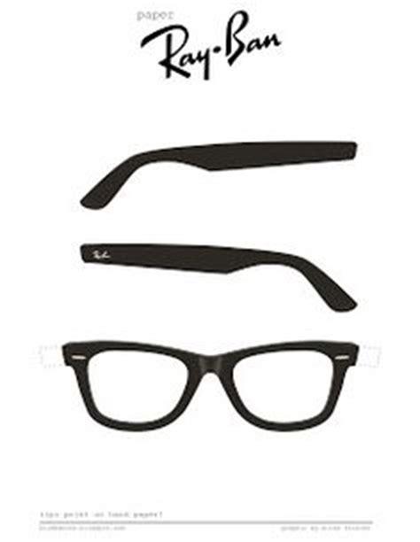 glasses printable printable eyeglasses template to print