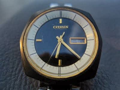 Jam Jadul Kq5 Citizen 7 Automatic clock sold jam tangan citizen antik tahun 1976
