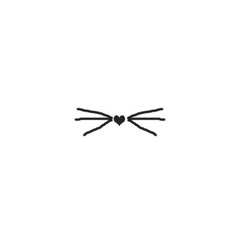 cat whiskers tattoo best 25 kitten ideas on cat tattoos