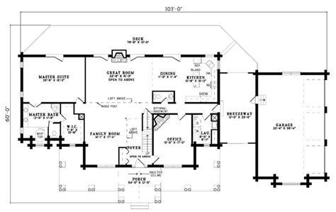 Country Floor Plans Log Home Plans House Plan 153 1476