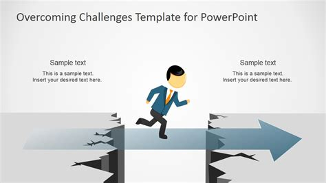 overcoming challenges powerpoint template slidemodel