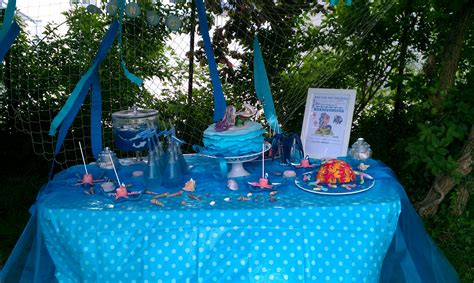 under the sea candy table geburtstag kinder 187 mein quot under the sea candy table quot