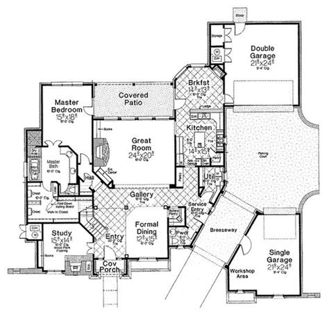 floor plans with breezeway detached garage with breezeway french country house with