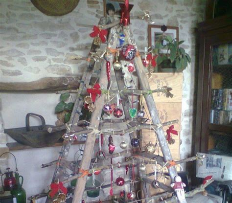 ladder christmas tree incredible things