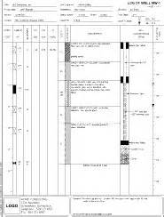 borehole log template gint v8 borehole logging and geotechncial database