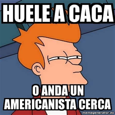 Meme Caca - meme futurama fry huele a caca o anda un americanista