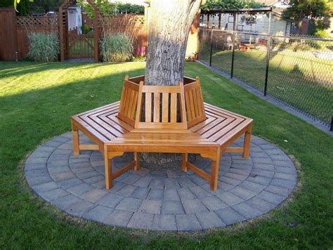 building a bench around a tree how to build a bench around a tree diy projects for