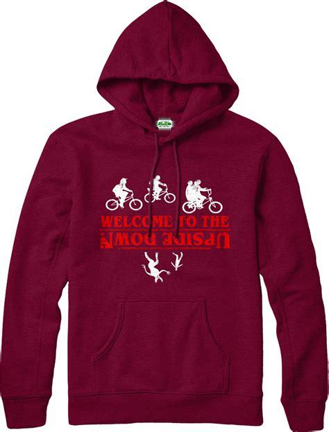 hoodie design best stranger things hoodie welcome upside down hoodie