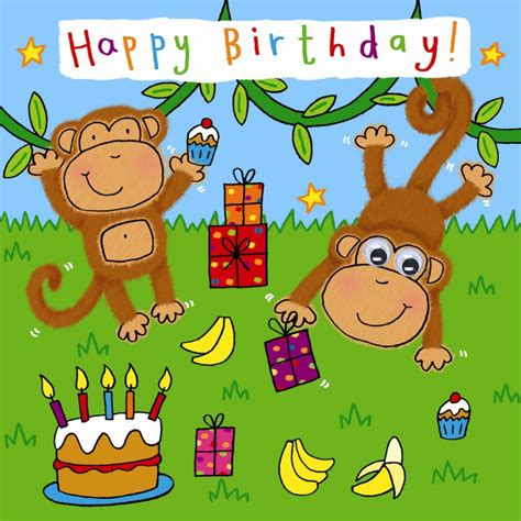 Free Children S Birthday Cards Kids Cards Kids Birthday Cards