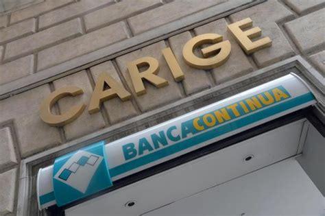 banca di carige banca carige fiorentino 171 costi insostenibili ridurremo