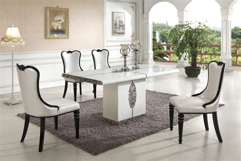 marble dining room table and chairs dining room table contemporary marble dining table decor