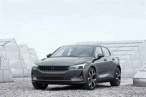 volvo polestar   electric luxury car priced  tesla model  bloomberg
