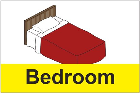 bedroom signs dementia bedroom sign