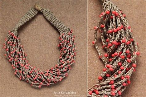crochet pattern en español collares hermosos en crochet en la web dise 241 os novedosos