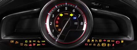 mazda  dashboard warning lights dash lightscom