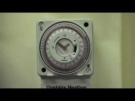 how to set a light timer setting a pin time clock