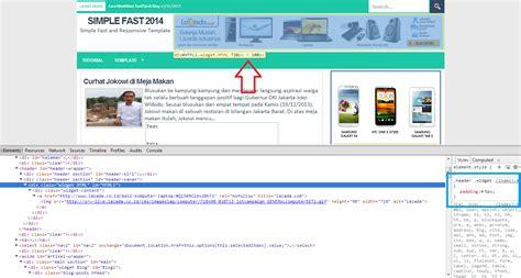 membuat header website dengan html blog gaul cara membuat header dengan iklan 728 x 90 di blog