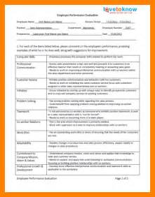 9 employee performance review exles monthly budget forms