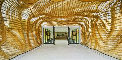 creative architecture creative cicada pavilion in spain mimics the body of an