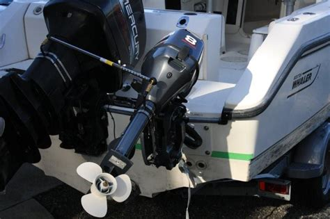 airboat with outboard motor kicker motor mounting position the hull truth boating