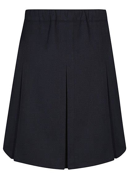 school pleated skirt navy school george at asda