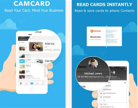 Business Card Scanner App Android