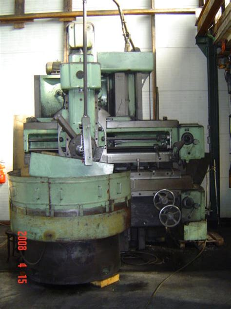 Lathes Stanko 1541 Vertical Turret Lathe Vtl World
