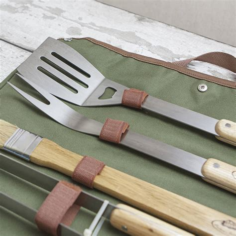 personalised bbq tool set by jonny s sister
