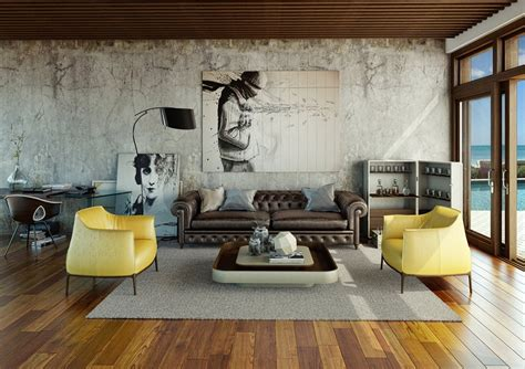 urban decor ideas awesomely stylish urban living rooms