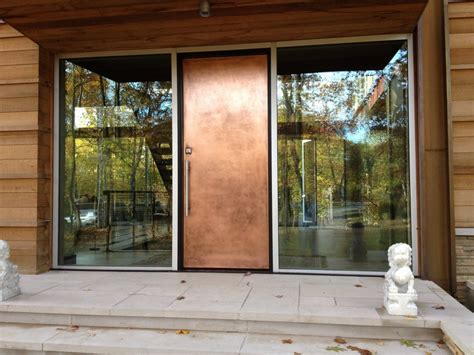 Add The Brilliance Of Real Metals To Virtually Any Door Front Steel Doors
