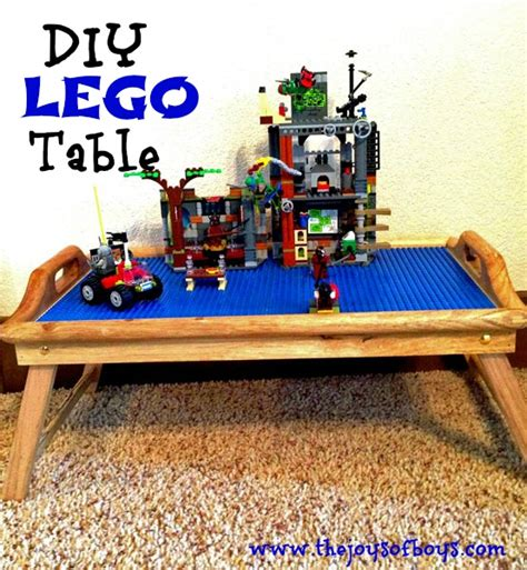 diy lego table create your own lego table in 3 easy steps