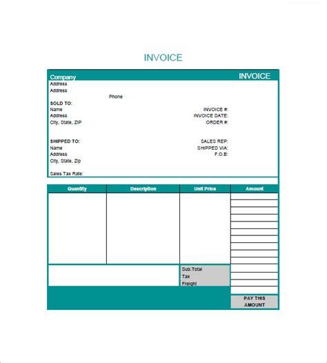 elegant freelance design invoice template free template 2018