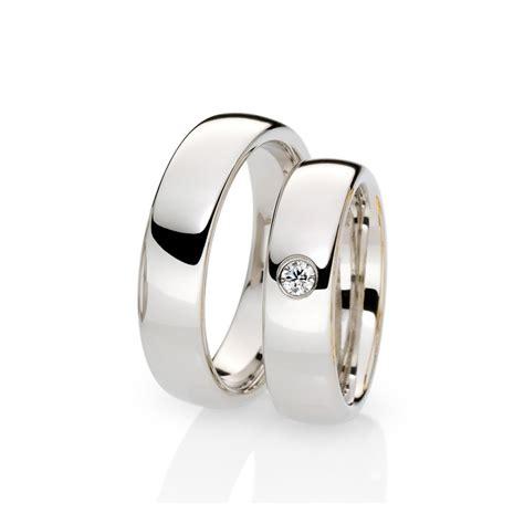 imagenes de anillos de matrimonio en oro blanco anillos de boda oro blanco imagui